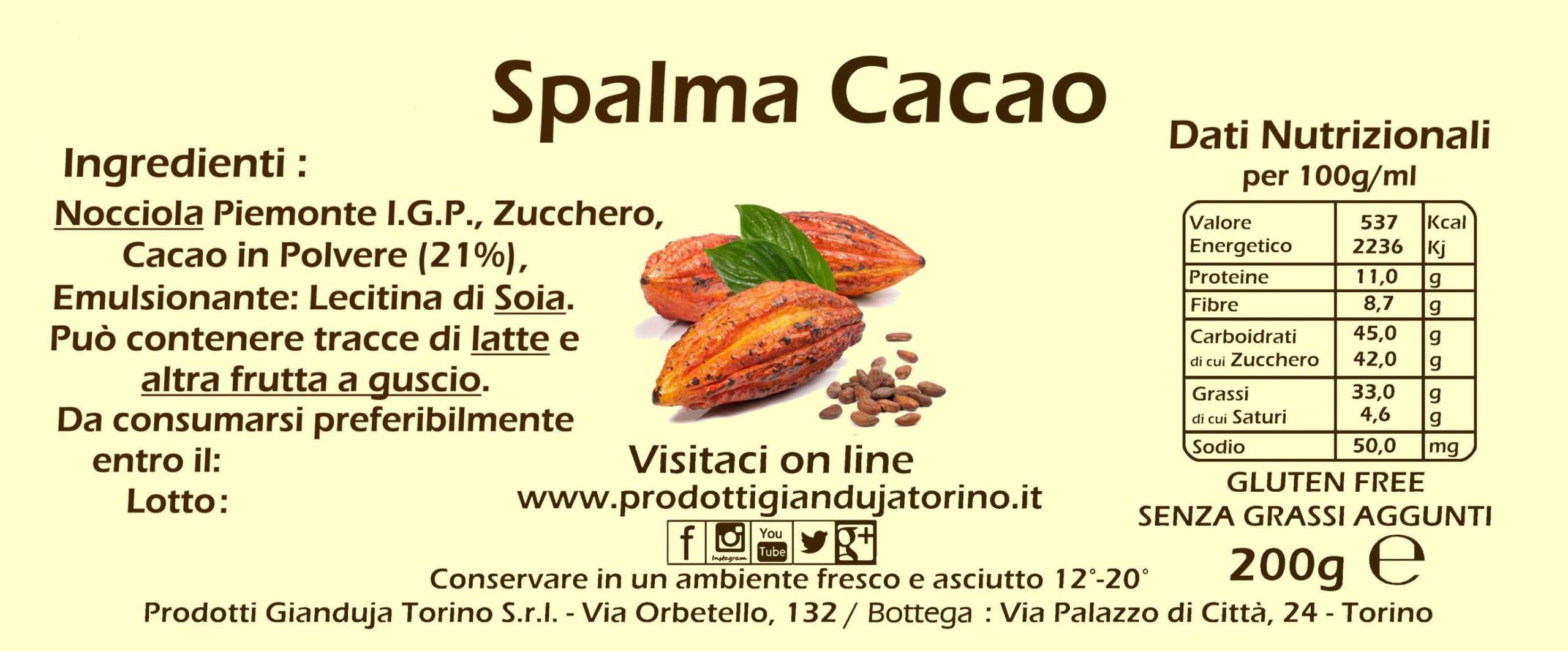 cacao spalmabile