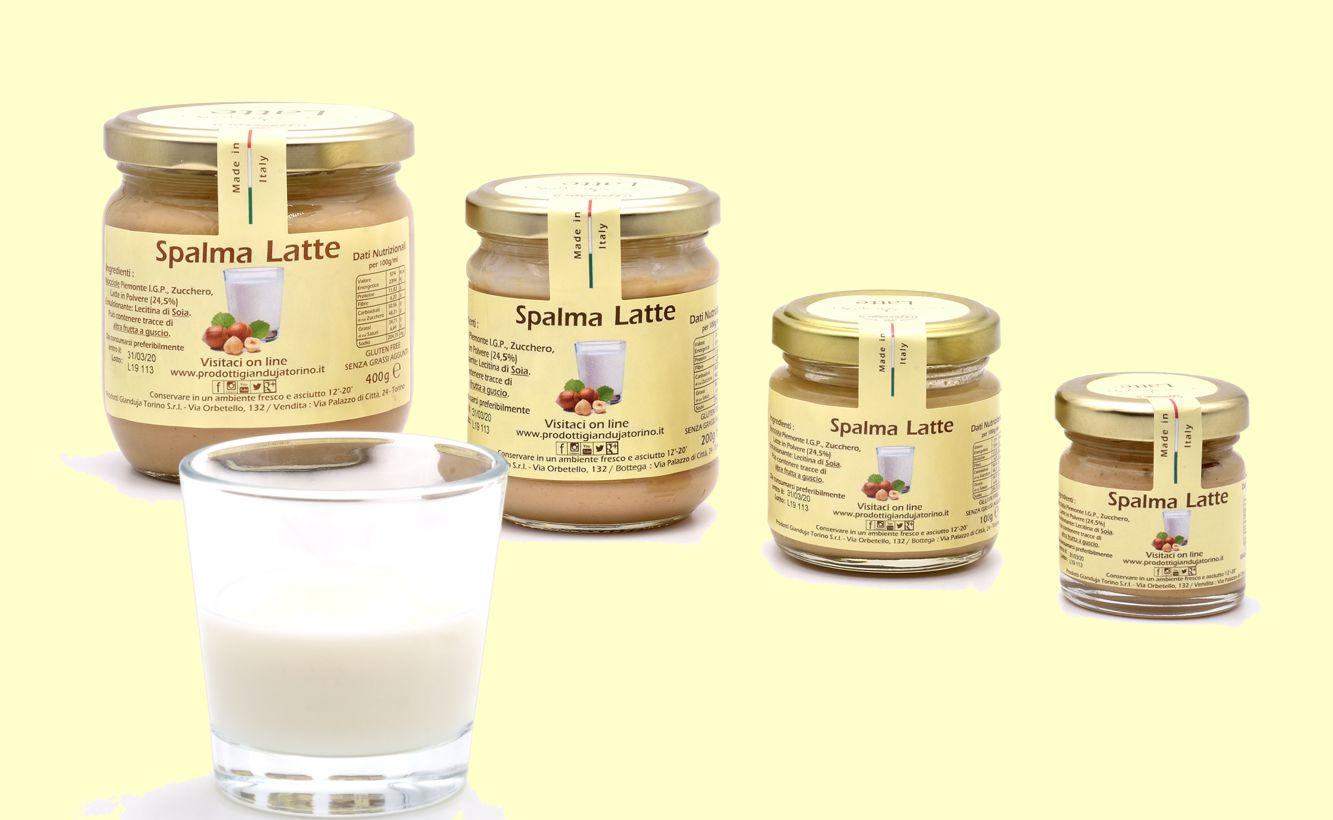 Crema spalmabile al latte