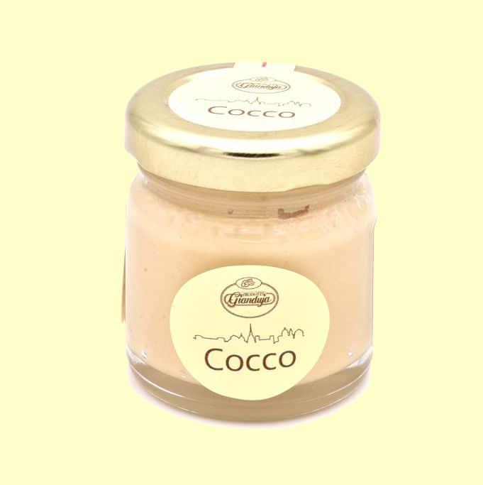 Vasetto crema al cocco